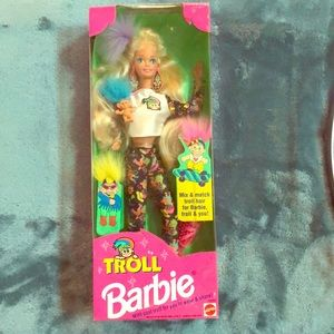 COPY - 1992 Troll Barbie